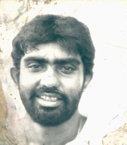 a bearded ASANKA