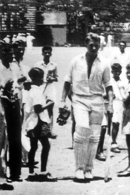 Benaud at Oval, '53
