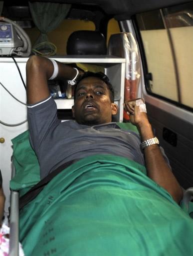 Thilan injured