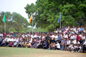 murali cup crowd at KILI