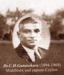Dr.`CH Gunasekara