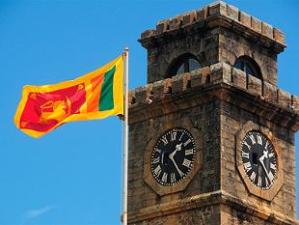 LION FLAG AT GALLE