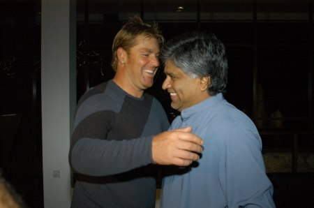 warne and arjuna