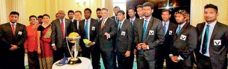 SL TEAM at victorian parliament