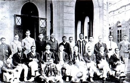 Vanderspars XI vs MCC Amateurs -1908