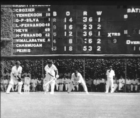 Colombo Oval scoreboard