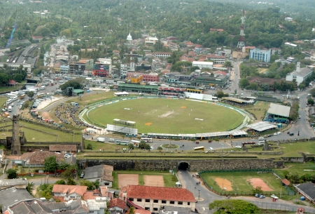22 Aerial View, Galle Ckt & Ramparts