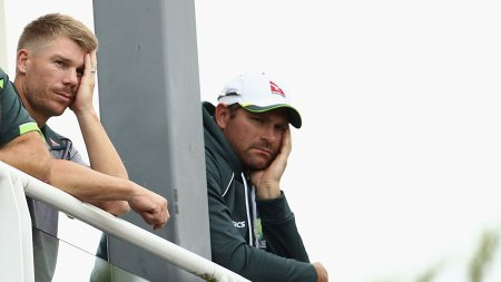 Aussies in dejection