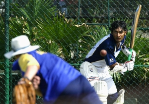 Sanga at practice -Getty