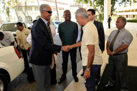 Sobers greeted --nation.lk
