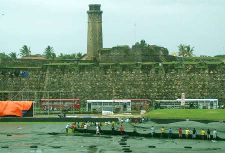 Galle fort adn ckt grounds