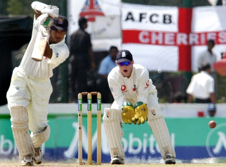 Kumar against England in 2003 -AFP