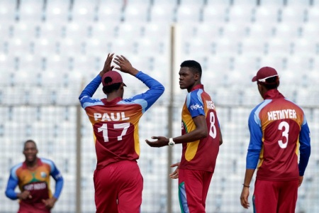 West Indies vs Zimbabwe in Chittagong