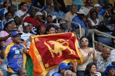 40-Fans fly the flag Caribbean 2007