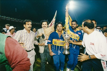 Arjuna with cup