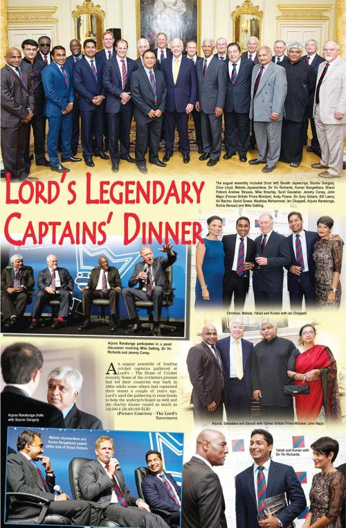 captains at LORDS