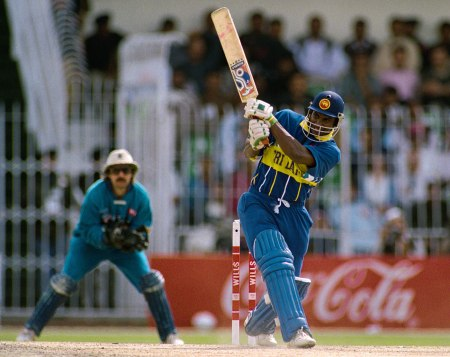 Sanath on song