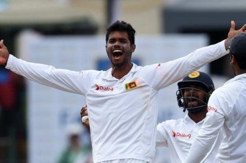 DHANANJAYA as bowler